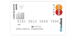 Карта Card Blanche (Idea Bank)