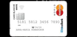 Карта Card Blanche (Idea Bank)